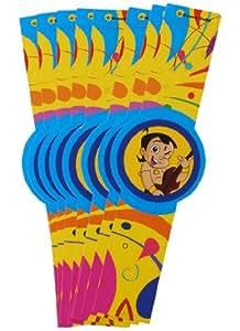 Themez Only Paper - Chhota Bheem, Multi Color (Wrist Band)