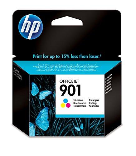 HP CC656AE # 901 Tintenpatrone blau, rosa, gelb (Tintenpatrone Schwarz 901 Hp)
