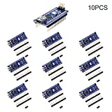 Kuman 10 x Mini Nano V3.0 ATmega328P 5V 16M Micro Controller Board Module for Arduino KY64-10