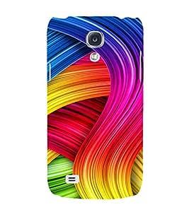PrintVisa Modern Art Pattern 3D Hard Polycarbonate Designer Back Case Cover for Samsung Galaxy S4