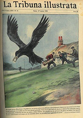 Da tempo, presso Manchester (Inghilterra) , un grosso corvo si era abituato a fare frequenti e improvvise incursioni su un campo di golf, portando via le palle con cui i soci stavano giocando. Visto che in due anni era riuscito a rubarne ben ottocento, questi, per farla finit, invitavano fra loro un amico, ottimo tiratore... . par PISANI Vittorio -
