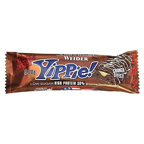 Weider Yippie. Bar 24cerrojo Brownie de vainilla