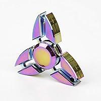Rainbow in alluminio metallo Fidget Spinner FOCUS EDC stress Autismo dito giocattolo a mano