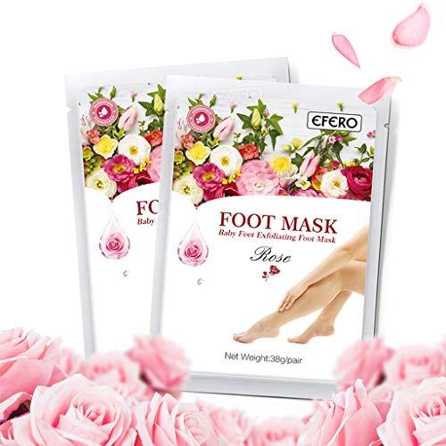 Fuß peeling maske,Füße Maske,Fuß Peeling Socken,SUMMER FOOT Premium Fußmaske zur Entfernung 10er von KUKICAT