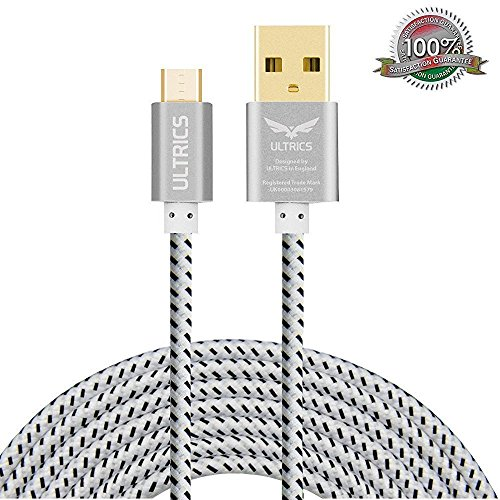 micro-usb-cable-ultrics-nylon-braided-charger-cable-10ft-3m-tangle-free-sync-charge-usb-android-char