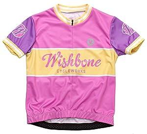 Wishbone 3207 - Los niños camisa de la bicicleta, tamaño S, rosa