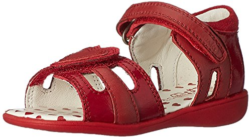 Clarks Girl's Red First Fashion Sandals - 4 kids UK/India...