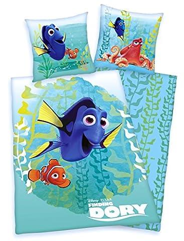 Parure de lit Walt Disney Findet Dorie Nemo Martin Jenny 135x 200cm, superbe (Martin Lino)