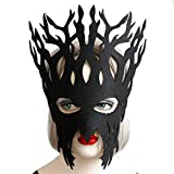 Masques, SHOBDW En Dentelle Noire Masque Masque de Dentelle Noir pour les Yeux pour Mascarade Fête Costumée (Noir)