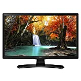 'LG 24 mt49vf-pz.API 24 HD Ready Computer Monitor LED Display, 250 cd/m², 1366 x 768 Pixel, zertifiziert Tivùsat, Schwarz