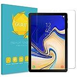 Fintie Panzerglas Schutzfolie für Samsung Galaxy Tab S4 10.5 - [9H Härte] [ Anti-Kratzen] [Kristall-klar] Hartglas Glasfolie Bildschirmschutzfolie für Samsung Tab S4 10.5 Zoll T830/T835 2018 Tablet-PC