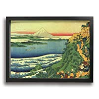 PKLUAS Japanese Art Wall Art Paintings Prints On Canvas Without Frame For Living Room Bedroom Decor 16x12Inch