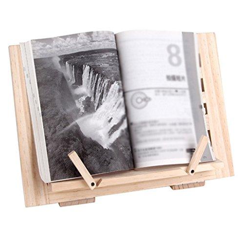 DFHHG® Soporte de libro, soporte de lectura estante de lectura soporte de lectura soporte de música soporte de computadora portátil durable