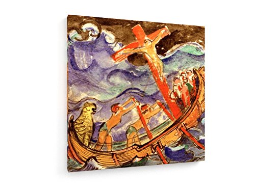 franz-marc-cristo-en-la-cruz-en-un-mar-tempestuoso-1915-60x60-cm-weewado-impresiones-sobre-lienzo-mu