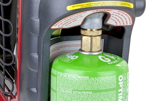 Mr. Heater Portable Buddy Gasheizung inkl. Adapter für Gaskartuschen mit 7/16-Gewinde; - 7