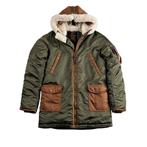 ALPHA INDUSTRIES Men Winter Jacket RBF
