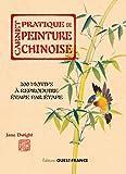 carnet pratique de peinture chinoise 200 motifs ? reproduire ?tape par ?tape