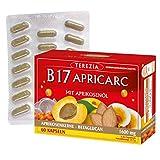 TEREZIA Vitamin B17 Apricarc mit Aprikosenkerne, Austernpilz, Reishi und Sanddorn 1600 mg (60)