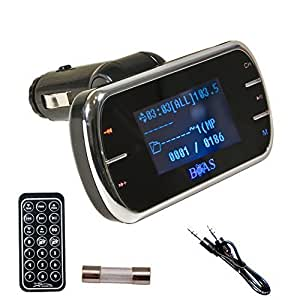 hf tech fm transmitter f r mp3 player im auto mit amazon
