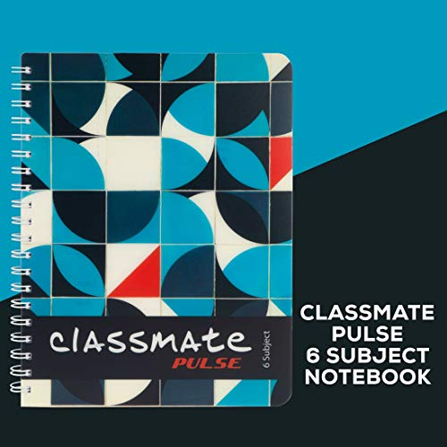 Classmate Premium 6 Subject Spiral Notebook - 203mm x 267mm, Soft Cowl, 300 Pages, Unruled Image 8