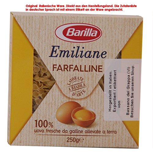 Barilla Emiliane Farfalline 12 x 250g = 3000g Eier 19,36% Eierteigwaren