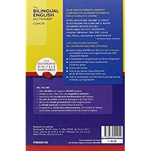 The bilingual english dictionary concise. Con CD-R