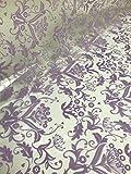 10 Meter x 80cm 'Milan' Lila Design Zellophan Rolle - Florist Strauss Geschenk und Wäschekorb Film Umhang