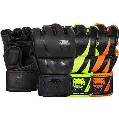 """Venum MMA Handschuhe """"Challenger"""" - MMA Handschuhe,Wettkampfhandschuhe,BJJ Handschuhe (Matte/Black, L/XL)"""