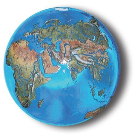 aqua-crystal-earth-sphere-with-natural-earth-continents-glass-stand-included-14-inch-diameter-by-mar