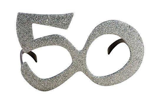 P 'tit payaso 98150gafas plástico–Age pedrería–50–negro