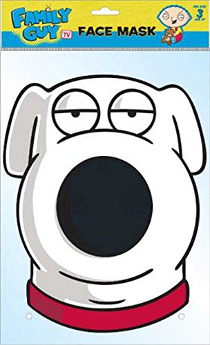 Family Guy Brian - Maske Pappmaske - Grösse ca. 30x21 (Kostüme Family Guy Kinder Für)