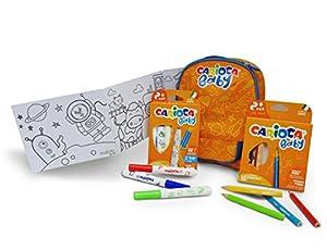 CARIOCA BABY BACKPACK |42893 - Mochila Impermeabile para Guardería / Colegio con Material Escolar para Niños / Bebés a Partir de 24 Meses