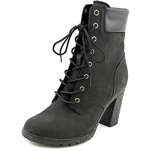 Timberland Womens Earthkeepers Glancy 6-inch Black Leather Boots 7 UK