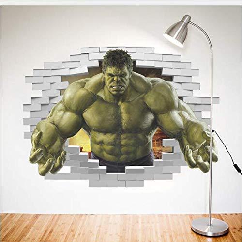 mkqqq135 Superhéroes Comic Avengers The Incredible Hulk Etiqueta De La Pared De Vinilo Art Home Kids Boy Dormitorio Poster Thor Nursery Decor Decal