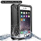 iPhone 6/6s Plus Waterproof Shockproof case, NewTsie Full-body Protective Snowproof Dirtproof with Built-in