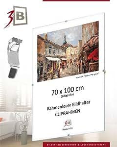 Set de 3 pièces - Sous Verre photo 30x40 cm - Sous Verre sans cadre