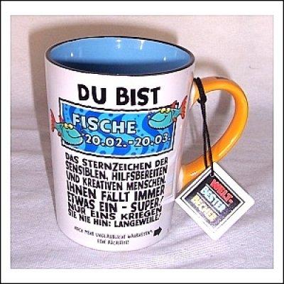 51C%2BWR7OAKL Sternzeichen Fische Kaffeetasse Becher Tasse