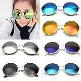 OUTERDO Occhiali Tondi da Sole Retro Occhiali da Sole Unisex Occhiali per Gli Uomini e Donne Telaio Metallo UV400 - OUTERDO - amazon.it