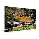 Premium Textil-Leinwand 90 cm x 60 cm quer, Farm in den Cederberg Mountains, Südafrika | Wandbild, Bild auf Keilrahmen, Fertigbild auf echter Leinwand, Leinwanddruck (CALVENDO Orte)