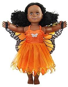 Dress-ups 71036Vestido de ensueño para 18pulgadas/46cm, muñecas, Mariposa monarca (Danaus Plexippus)