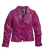 Harley-Davidson Quilted Lambskin Leather Biker Jacket 97119-16VW Damen Outerwear, purple orchid, XL