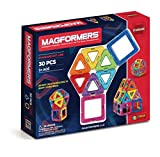 Magformers 63076 Standard Set (30-Pieces), Rainbow, 1
