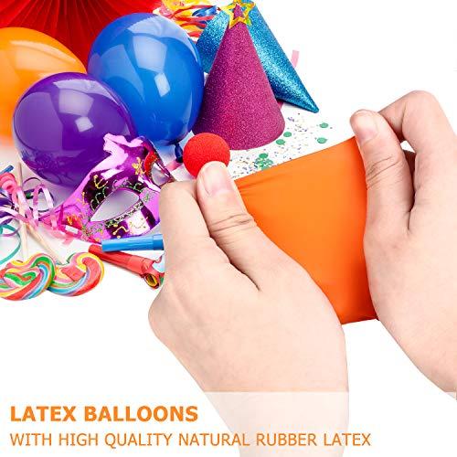 Zoom IMG-1 tedgem 100 pcs palloncini matrimonio
