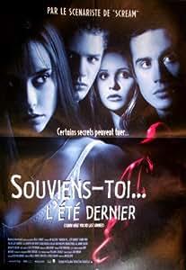 Affiche de cinéma originale - SOUVIENS TOI L'ETE DERNIER - format 40 x 60 cm