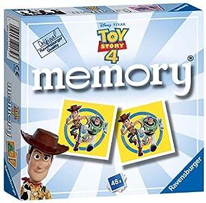 Ravensburger UK 21472 Ravensburger Disney Pixar Toy Story 4, Mini Memory Game