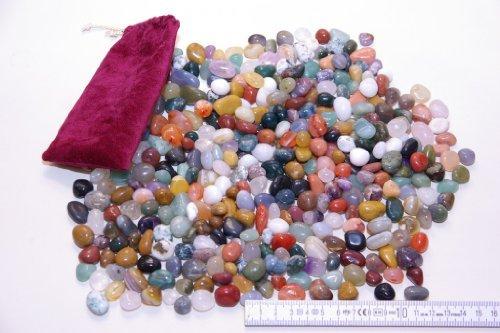 Echte Halbedelsteine, 1000 Gramm