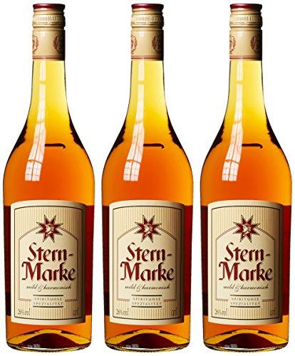 Stern-Marke Weinbrand (3 x 0.7 l)