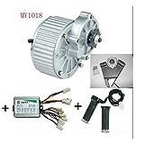 MY1018 450W 24V Motores eléctricos para bicicletas Kit de bicicleta eléctrica Kit bicicleta...