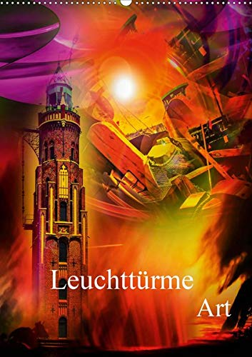 Leuchttürme Kalender der besonderen Art (Wandkalender 2020 DIN A2 hoch): Lassen Sie sich vom Leuchten dieser Leuchttürme-Bilder verzaubern. (Monatskalender, 14 Seiten ) (CALVENDO Kunst)