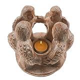 Freundeskreis, Kreis der Freundschaft 4 Engel, handmade, Teelicht-Kerzen-Halter